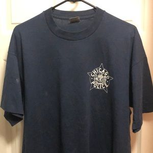 Vintage Chicago police department shirt